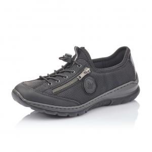 R1417 01 Remonte Sneakers I Sort Til Dame Rieker shop.dk